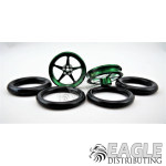 1/16 x 3/4 Green Pro Star O-ring Drag Fronts