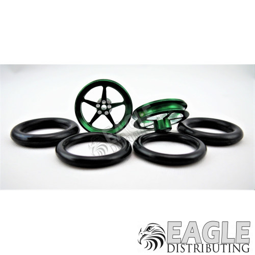 3/4 O-Ring Drag Front Tire Green