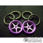 1/16 x 3/4 Purple Pro Star O-ring Drag Fronts