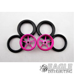 1/16 x 3/4 Pink Pro Star O-ring Drag Fronts