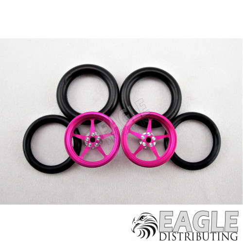 3/4 O-ring Drag Front Tire Drag Front Limited Edition, Breast Cancer Awareness ProTrack Corporation PRO411IPINK