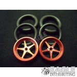 1/16 x 3/4 Red Pro Star O-ring Drag Fronts