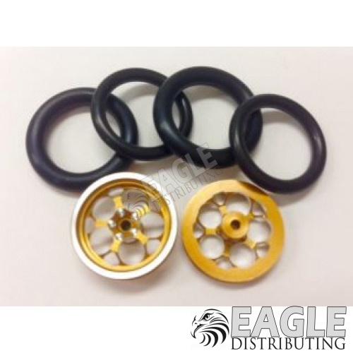 1/16 x 3/4 3D Gold Magnum O-ring Drag Fronts-PRO411J3DG