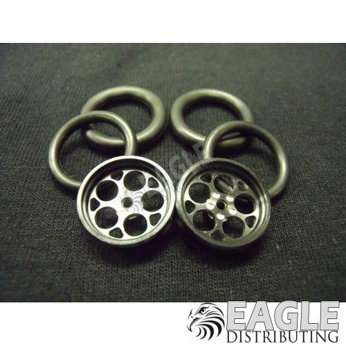 1/16 x 3/4 Black Magnum O-ring Drag Fronts-PRO411JBL