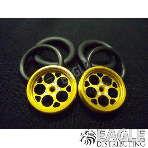 1/16 x 3/4 Gold Magnum O-ring Drag Fronts-PRO411JG