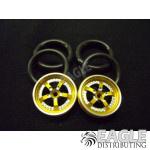 1/16 x 3/4 3D Gold Evolution O-ring Drag Fronts