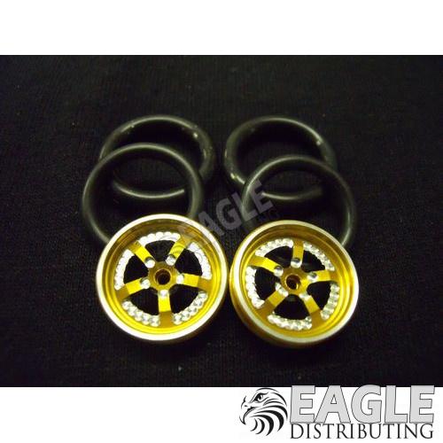 1/16 x 3/4 3D Gold Evolution O-ring Drag Fronts-PRO411K3DG