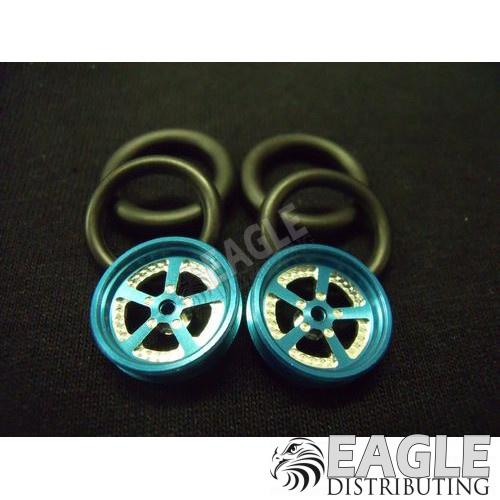 1/16 x 3/4 Blue Evolution O-ring Drag Fronts-PRO411KB