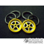 1/16 x 3/4 Gold Evolution O-ring Drag Fronts