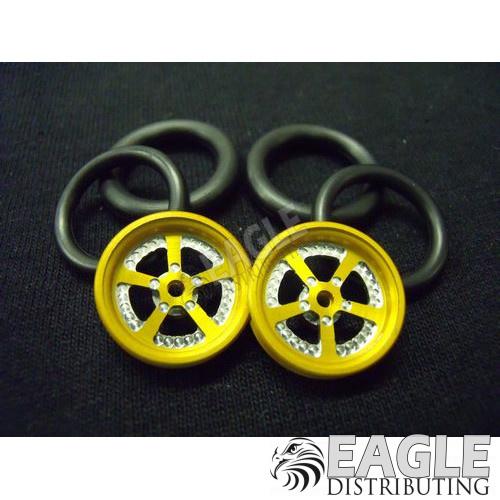 1/16 x 3/4 Gold Evolution O-ring Drag Fronts-PRO411KG