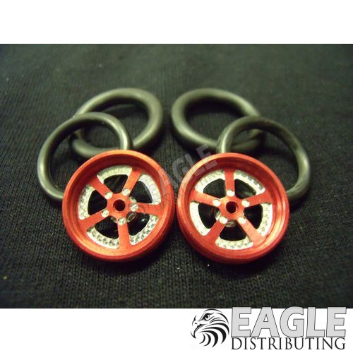 1/16 x 3/4 Red Evolution O-ring Drag Fronts-PRO411KR