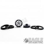 1/16 x 3/4 Gunmetal Bulldog O-ring Drag Fronts-PRO411MGM