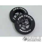1 1/16 x .250 Black Sawblade Foam Drag Fronts