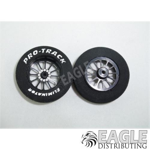 1 1/16 x .250 Black Turbine Foam Drag Fronts-PRO4410EBL