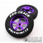 1 1/16 x .250 Purple Pro Star Foam Drag Fronts