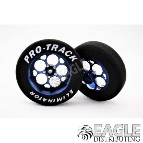 3/4 x 1 1/16 Foam Front Tire Blue