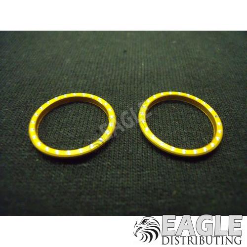 CNC Beadlock W/ Rivet, Gold Anodized