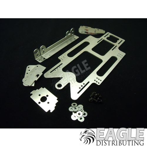Aluminum 1/24 Drag Chassis Kit