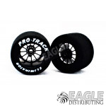 3/32 x 1 1/16 x .700 Black Turbine Drag Wheels