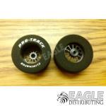 3/32 x 1 3/16 x .700 Black Turbine Drag Rears, Nat. Rubber