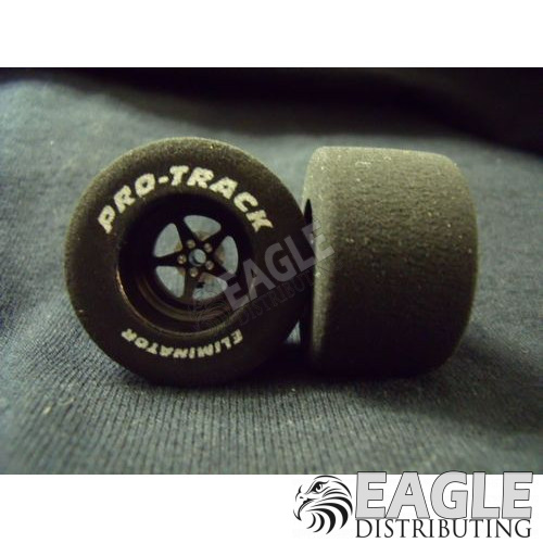Pro Star Series CNC Drag Rears, 3D Design,  1 3/16  x .700, Black