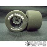 3/32 x 1 3/16 x .700 Black Magnum Drag Wheels