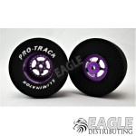 3/32 x 1 5/16 x .700 Purple Star Drag Wheels