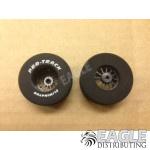 3/32 x 1 5/16 x .700 Black Turbine Drag Wheels