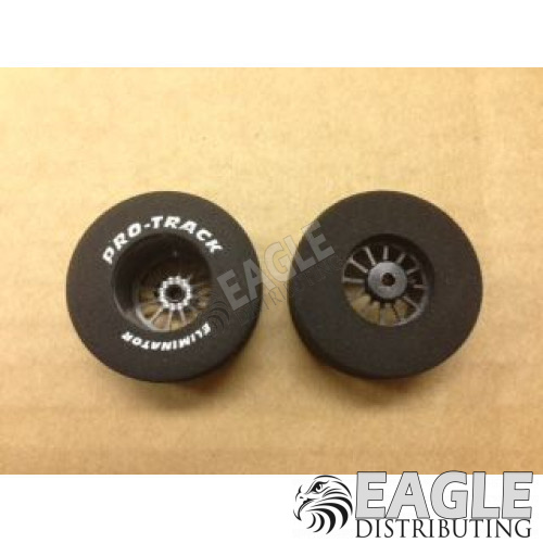 Turbine Series CNC Drag Rears, 1 5/16 x .700, Black