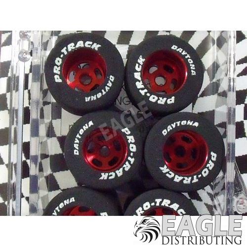 1/8 x .850 x .800 Red Daytona Stockers Rears, Nat. Rubber-PRON250R