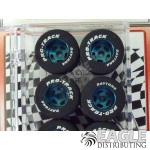 1/8 x .910 x .800 Blue Daytona Stockers Rears, Nat. Rubber