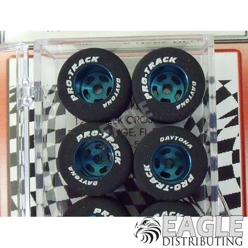 1/8 x .910 x .800 Blue Daytona Stockers Rears, Nat. Rubber-PRON252B