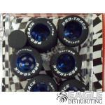 3/32 x .790 x .800 Blue Daytona Stockers Rears, Nat. Rubber