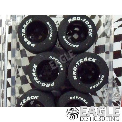 1/8 x .790 x .800 Black Daytona Stockers Rears, Nat. Rubber-PRON299BL