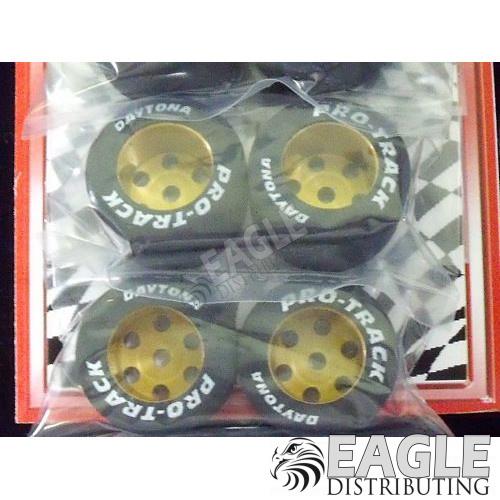 1/8 x 1 1/16 x .700 Gold TQ Rears, Nat. Rubber-PRON320G