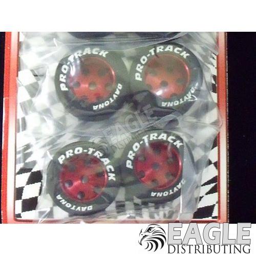 1/8 x 1 1/16 x .700 Red TQ Rears, Nat. Rubber-PRON320R