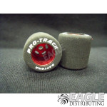 1/8 x .825 x .800 Red Daytona Stockers Drag Rears, Nat. Rubber