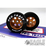 27mm x 10mm Rear Gold 1/8 Axle