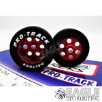 1/8 x 1 1/16 x .435 Red TQ Rears, Nat. Rubber
