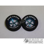 3/32 x 1 1/16 x .300 Blue Pro Star Drag Wheels