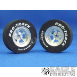 3/32 x 1 1/16 x .300 3D Evolution Drag Rear Wheels with Nat. Rubber Tires