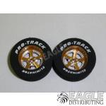 3/32 x 1 1/16 x .300 Gold Evolution Drag Wheels