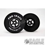 3/32 x 1 3/16 x .300 3D Black Star Drag Wheels