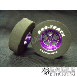 3/32 x 1 3/16 x .300 Purple Star Drag Wheels