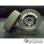 3/32 x 1 3/16 x .300 Black Turbine Drag Wheels