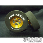 3/32 x 1 3/16 x .300 3D Gold Pro Star Drag Wheels