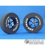 3/32 x 1 3/16 x .300 Black Pro Star Drag Wheels