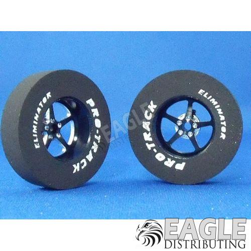 Pro Star Series CNC Drag Rears, 1 3/16 x .300, Black