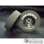 3/32 x 1 3/16 x .300 3D Black Magnum Drag Wheels