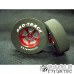 3/32 x 1 3/16 x .300 Red Evolution Drag Wheels